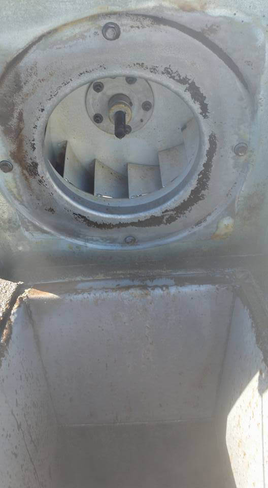 denver hood cleaning exhaust fan after cleaning and rooftop grease containment
