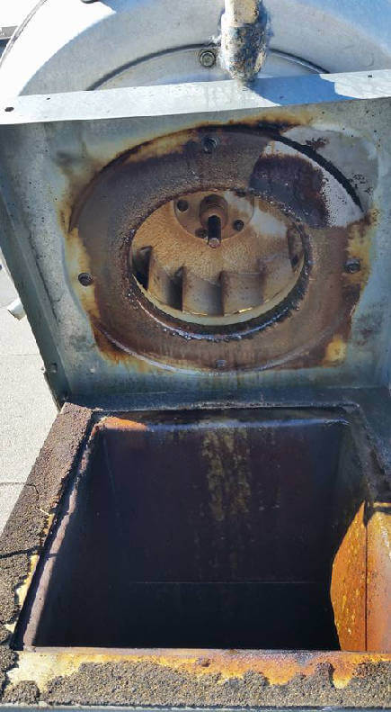 denver hood cleaning exhaust fan before