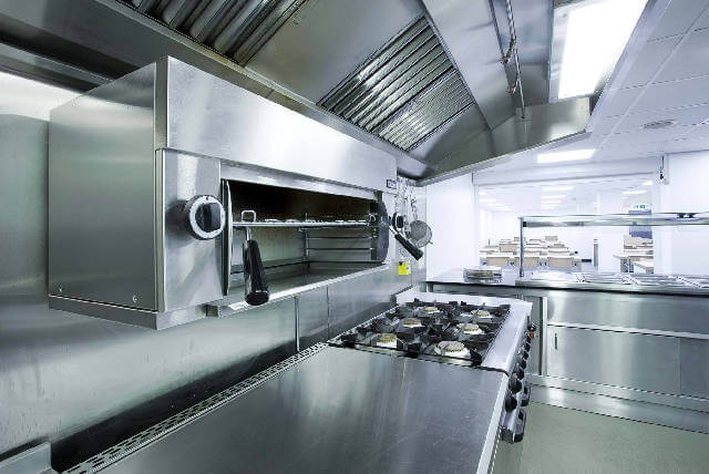 commercial kitchen exhaust hood cleaning